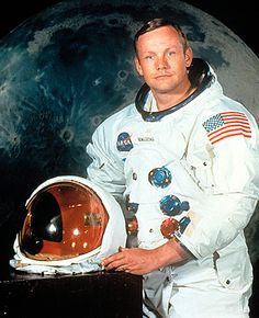 The official NASA portrait of Neil Armstrong, commander of the Apollo 11 mission. Photograph: Everett Collection/Rex Feature