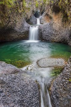 Radal Siete Tazas National Park, Curicó, Maule, Chile. It lies in a pre-Andean area close to Descabezado Grande volcano. by Luis Felipe Peña Sandoval