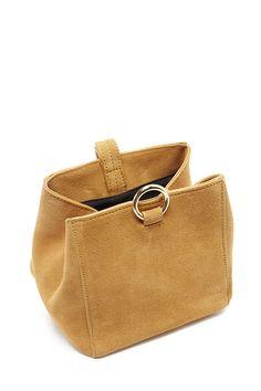 Genuine Suede Mini Shoulder Bag