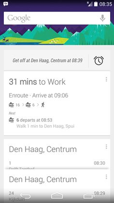 Asleep on the train? Google Now will try to wake you before your stop