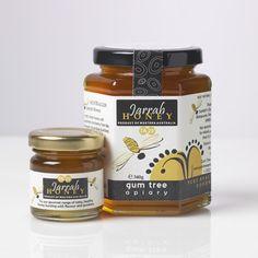 Gumtree Apiary Jarrah Honey Branding