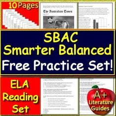 photograph about Caaspp Practice Tests Printable titled Smarter Healthful (SBAC) Components