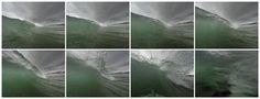 Wave crashing into me Topsail Island NC [OC] [9152 x 3500]