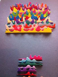 'I dont know what this is supposed to be.... but its super cool.' Paper art