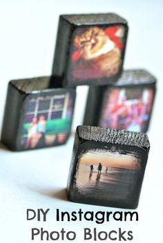DIY Instagram Photo Blocks   DIY & Crafts