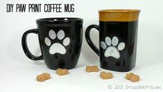 DIY-Paw-Print-Coffee-Mug-Tutorial *holiday gift idea*