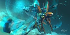 Jehuty from Zone of the Enders