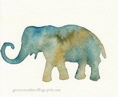 Make Stenciled Watercolor Art