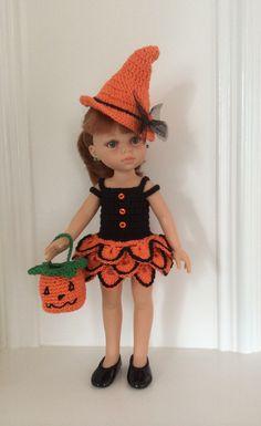 Tenue Halloween pour poupées 32 - 33 cm Paola Reina, Chérie Corolle, Little Darling : Jeux, jouets par la-mesangerie