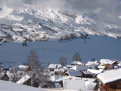 Les chalets à Albiez #albiez #village #ski #chalet #maurienne #montagne
