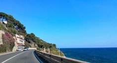 Küstenstraße bei Sanremo - http://olschis-world.de/
