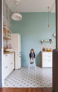 Casinha colorida: Vintage em 2016 na França