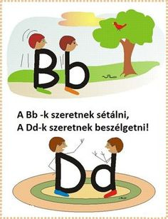 "Dyslexie en Engels Good way to teach how to differentiate between ""b"" and ""d"" Very Clever! Kindergarten Literacy, Early Literacy, Literacy Activities, Preschool, Dyslexia Activities, Alphabet Activities, Teaching Reading, Fun Learning, Visual Learning"