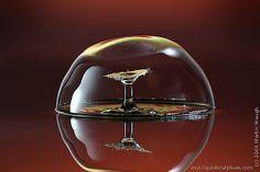 Liquid Sculpture - Fine art photography of drops and splashes, (c) 2011 Martin Waugh