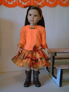 Fashion-for-18-Slim-Dolls-Kidz-n-Cats-Dress-1-by-Brigitte
