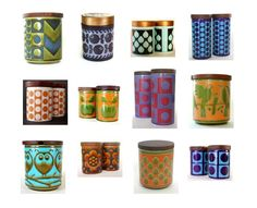 Vintage Hornsea designs. My love of Hornsea has just gone up a-bazillion-fold!