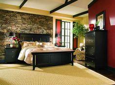 decorar tu dormitorio con piedra 1