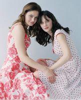 The Deschanel sisters
