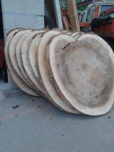 rond tafelblad/boomschijf maten tot 130 cm