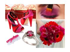 Wedding Inspiration by Color: Red and Hot Pink!
