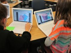 A Creative Way to Compare and Contrast the Properties of Polygons - What's going on in Mr. Solarz' Class? Using Creately.com which allows students to create graphic organizers, flowcharts, mind maps, etc.