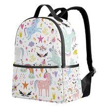 Unicorn Backpacks. Unicorns Pattern Kid Backpack Childrens  School Bag Boy  Girl Perfect ... fa8a1eba8e603