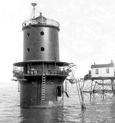 Thimble Shoal Lighthouse, Virginia at Lighthousefriends.com