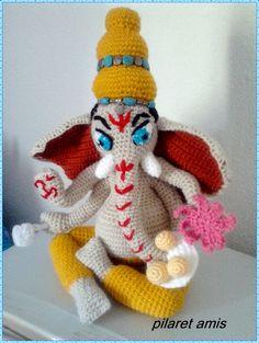 Este precioso Ganesha ha sido el regalo para una persona entrañable. Ya he tejido varios, encargos para regalar, uno de ellos de...