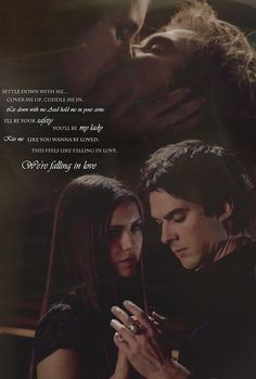 Kiss Me lyrics - Delena- Such a perfect song for these two! Vampire Diaries Quotes, Vampire Diaries Cast, Vampire Diaries The Originals, Damon Salvatore Vampire Diaries, Ian Somerhalder Vampire Diaries, Kiss Me Lyrics, Nova Orleans, Ian And Nina, Vampier Diaries