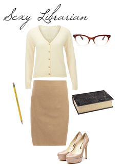 Sexy Librarian Halloween Costume.....  mlKXNpxvuTh3We0tVwz4dbdK.png:Amazon:photo