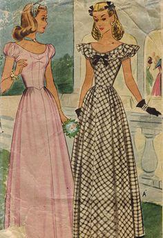 1940s McCall 5596 Vintage Sewing Pattern Misses por midvalecottage, $20.00