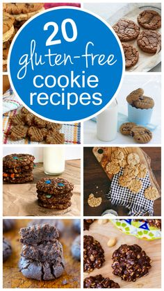 20 delicious gluten-free cookie recipes (perfect for holiday baking!) need something for the cuz!