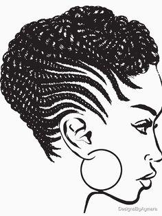 Nicole African American Art Giclee Print Black Art Sassy Girl