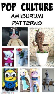 Pop Culture Amigurumi Patterns #amigurumipatterns