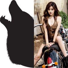 Supernatural&kpop // Werewolf // Seungah of rainbow