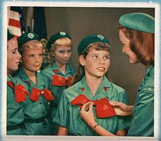 Girl Scouts vintage photo