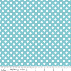 Riley Blake Designs: K350-20 AQUA