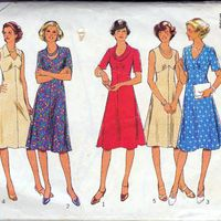 Vintage sewing pattern archive