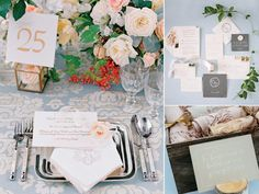"""The official Pantone Color of the Year isn't one, but two hues—actually, it's a """"blending"""" to be precise. Pantone named Rose Quartz, a blush pink, and Serenity, a periwinkle-esque blue, the colors of the year, and we have a feeling you'll be seeing a lot of them added to the wedding mix in 2016."""