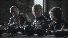 Jaime, Tyrion et Tommen Lannister