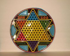 Chinese Checkers-my grandmother (Nanny) spent time playing this game with us when we visited her.