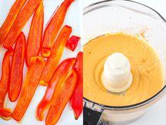 Hummus de pimiento rojo asado | Cocinar en casa es facilisimo.com
