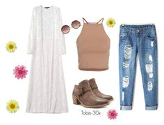 """""""Spring into Style"""" by qupidshoes on Polyvore featuring NLY Trend, Linda Farrow, women's clothing, women, female, woman, misses and juniors"""
