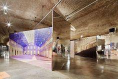 Mirrored Interior Installation by Inaki Abalos | http://www.yellowtrace.com.au/mirrored-interior-installation-inaki-abalos/