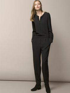 Combinaison pantalon fluide de Massimo Dutti : Trouvez la bonne combinaison - Journal des Femmes