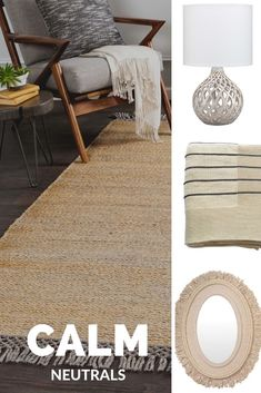 Enhance your home with neutral colors, fitting for any room.