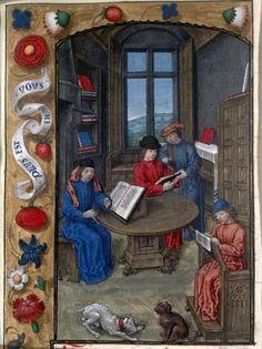Flavius Josèphe, Les Antiquités judaïques, Belgique (Bruges), XVe siècle Paris, BnF, département des Manuscrits, Français 11, folio 1