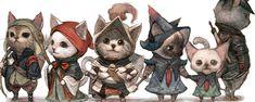Classes do RPG D&D explicadas com gatinhos - http://www.garotasgeeks.com/classes-do-rpg-dd-explicadas-com-gatinhos/