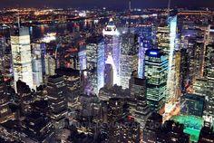 New York from Empire by dumantk.deviantart.com on @DeviantArt