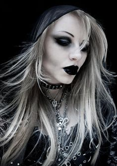 This may be on the Goth Glam side, but we like the exposure